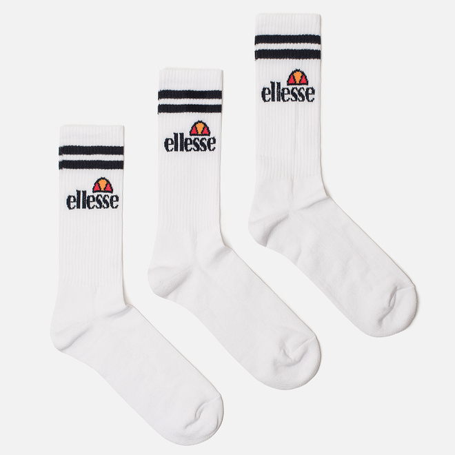 Комплект носков Ellesse Pullo 3-Pack White