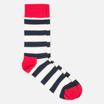 Комплект носков Happy Socks Big Dot Blue/Red/White фото- 3