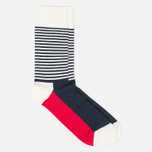 Комплект носков Happy Socks Big Dot Blue/Red/White фото- 5