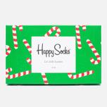 Комплект носков Happy Socks Holiday 3 Pack Red/Green/Navy фото- 1