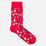 Комплект носков Happy Socks Holiday 3 Pack Red/Green/Navy фото- 3