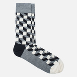Happy Socks Optic Socks Box Black/Grey/White photo- 3