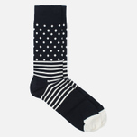 Happy Socks Optic Socks Box Black/Grey/White photo- 4