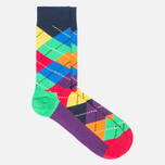 Комплект носков Happy Socks Origami Blue/Green/Orange/Turquoise/Yellow фото- 2