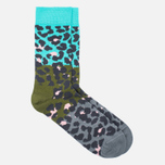 Комплект носков Happy Socks Stripe Blue/Brown/Green/Pink/Purple/Turquoise фото- 2