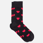 Комплект носков Happy Socks Valentines Day Red/Black фото- 3