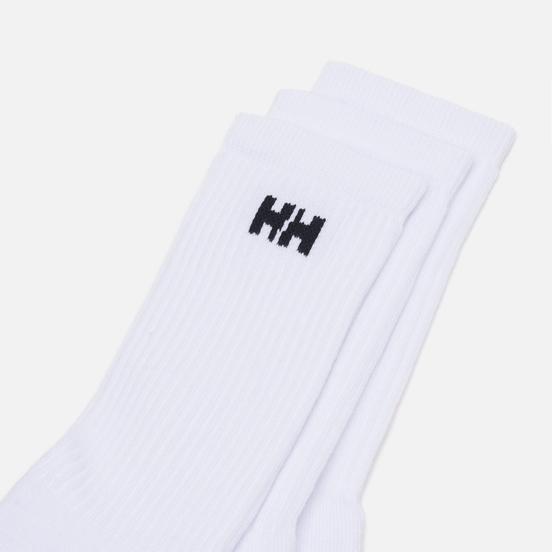 Комплект носков Helly Hansen 3-Pack Cotton Sport White