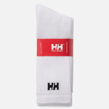Комплект носков Helly Hansen 3-Pack Cotton Sport White фото- 1