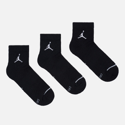 Комплект носков Jordan Jumpman Everyday Max Ankle 3-Pack Black/Black/Black