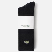 Комплект носков Lacoste 3-Pack Sport High Black/Black/Black фото- 1