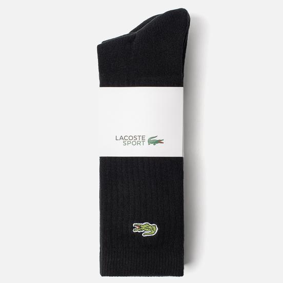 Комплект носков Lacoste 3-Pack Sport High Black/Black/Black