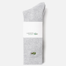 Комплект носков Lacoste 3-Pack Sport High Grey Chine/White/Black фото- 1