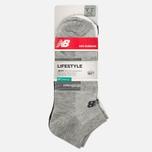 Комплект носков New Balance Low Cut 3-Pack Black/White/Grey фото- 0