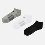 Комплект носков New Balance Low Cut 3-Pack Black/White/Grey фото- 1