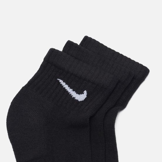 Комплект носков Nike 3-Pack Everyday Cushion Ankle Black/White
