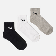 Комплект носков Nike 3-Pack Everyday Cushion Ankle Multicolor фото- 0