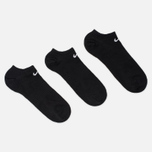 Комплект носков Nike 3-Pack Lightweight Everyday Black фото- 1