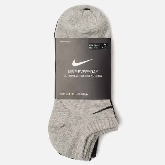 Комплект носков Nike 3-Pack Lightweight Everyday Multicolor