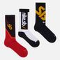 Комплект носков Nike SB 3-Pack Everyday Max Lightweight Crew Multi-Color фото - 0