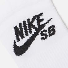 Комплект носков Nike SB 3-Pack No Show White/Black фото- 2