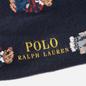 Комплект носков Polo Ralph Lauren Bear Quad And Polo Poly Crew 2-Pack Cruise Navy/Foster Grey/Navy фото - 2