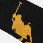 Комплект носков Polo Ralph Lauren Big Pony 3-Pack Black фото- 2