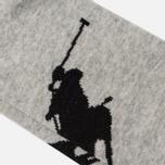 Комплект носков Polo Ralph Lauren Big Pony 3-Pack Black Assorted фото- 2