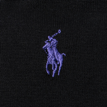 Комплект носков Polo Ralph Lauren Mercerized Cotton 3-Pack Black фото- 2