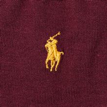 Комплект носков Polo Ralph Lauren Mercerized Cotton Solid Polo Pony 3-Pack College Green/Gold/Classic Wine фото- 2