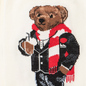 Комплект носков Polo Ralph Lauren Ski Bear And Holiday Bear Gift Box 3-Pack Black/Ivory/Red фото - 2
