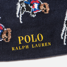 Комплект носков Polo Ralph Lauren Ski Bears Crew 2-Pack Cruise Navy/Sapphire Star/Cruise Navy фото- 2