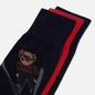 Комплект носков Polo Ralph Lauren Skijump Bear Crew 3 Pack Cruise Navy/Pion Red/Cruise Navy фото - 1