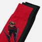 Комплект носков Polo Ralph Lauren Skijump Bear Crew 3 Pack Pion Red/Black/College Green фото - 1