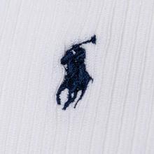 Комплект носков Polo Ralph Lauren Supersoft Crew 3-Pack White фото- 2