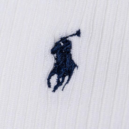 Комплект носков Polo Ralph Lauren Supersoft Crew 3-Pack White