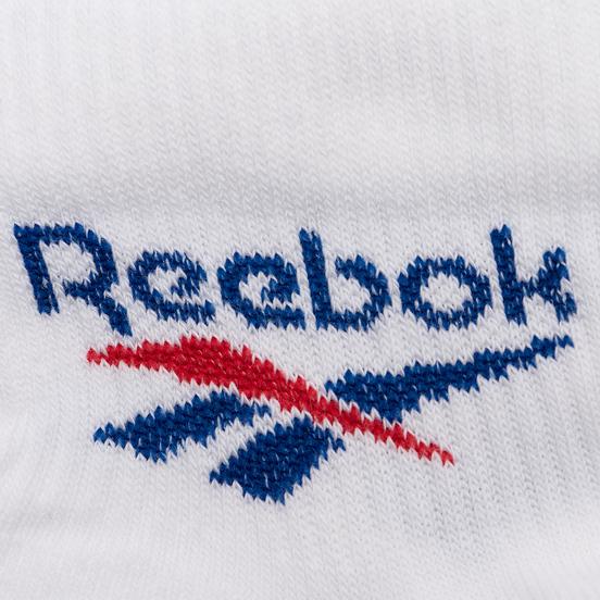 Комплект носков Reebok 3-Pack Classic Foundation Ankle White
