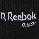 Комплект носков Reebok Classic Core Crew 3-Pack Black/Black/Black фото- 2