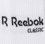 Комплект носков Reebok Classic Core Crew 3-Pack White/White/White фото- 2