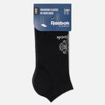 Комплект носков Reebok Classic Foundation No Show 3-Pack Black фото- 1