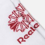 Комплект носков Reebok Classic Foundation No Show 3-Pack White/White/White фото- 2