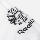 Комплект носков Reebok Classic Invisible 3-Pack White фото- 2