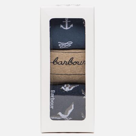 Комплект женских носков Barbour Coastal Giftbox Multicolor