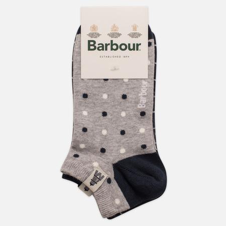Комплект женских носков Barbour Spot Check Cascade 2 Pack Navy