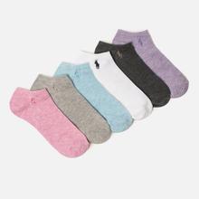 Комплект женских носков Polo Ralph Lauren Flat Ultra 6-Pack Multicolor фото- 0