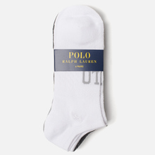 Комплект носков Polo Ralph Lauren Polo Logo Arch Flat 6-Pack Multicolor фото- 1
