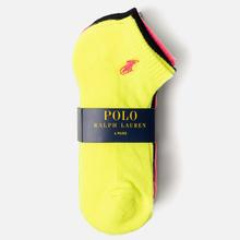 Комплект носков Polo Ralph Lauren Stretch Sole Poly Blend 6-Pack Bright Multicolor фото- 1