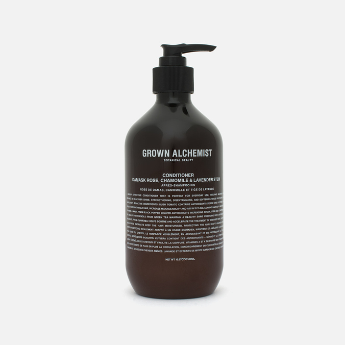 Grown Alchemist Damask Rose/Camomile & Lavender Stem Hair Conditioner 500ml
