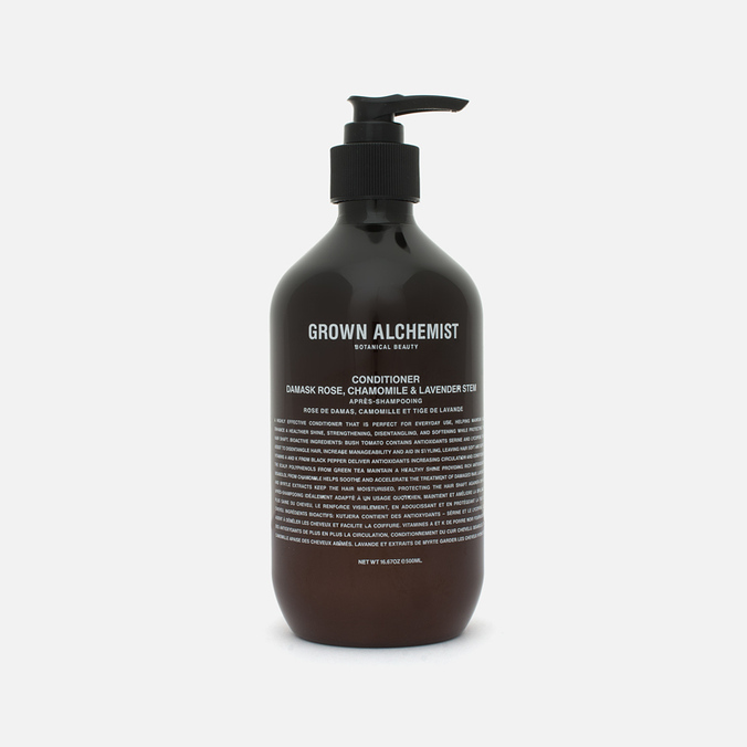 Кондиционер для волос Grown Alchemist Damask Rose/Camomile & Lavender Stem 500ml