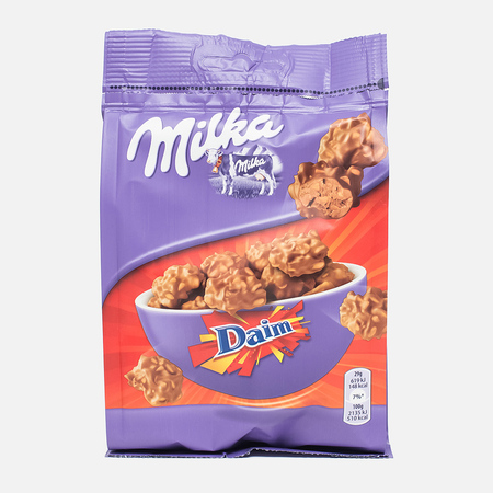 Конфеты Milka Daim Mini Chocolate Pouch 146g