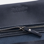 Женский кошелек Ally Capellino Evie Long Zip Leather Navy фото- 3